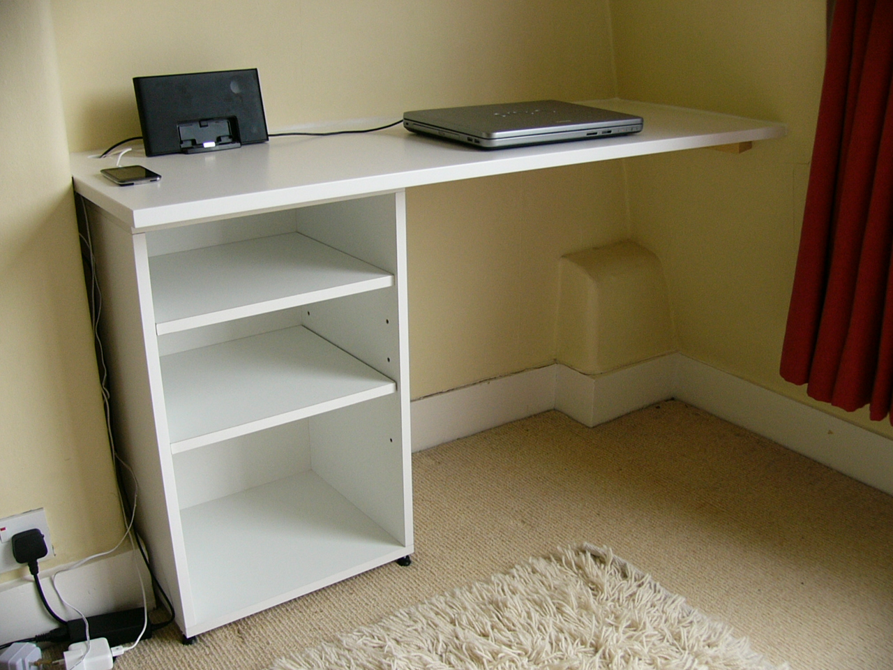 Floating Corner Desk - Build Floating Corner Desk Plans