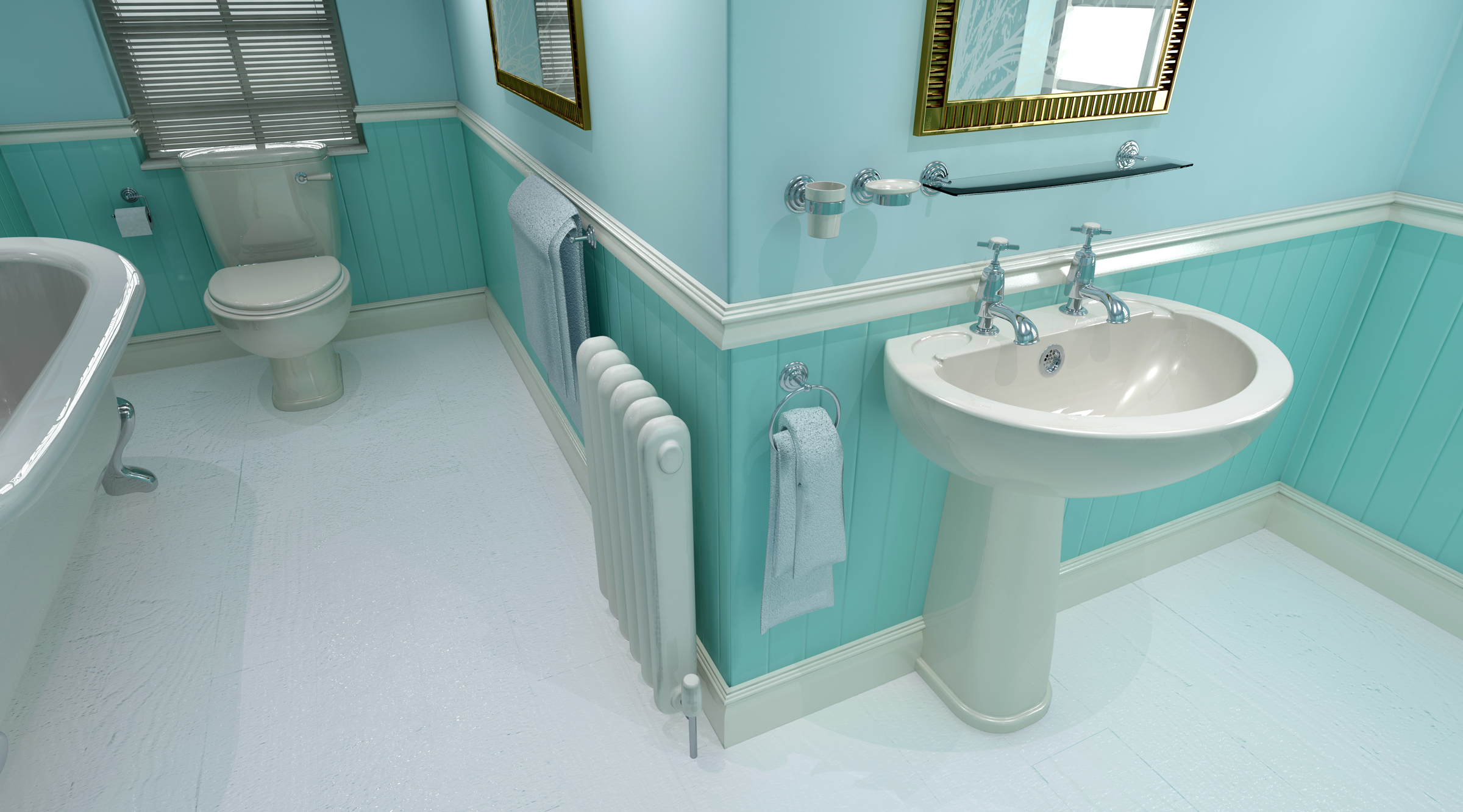 Perfect bathroom color trend for 2016 homesfeed for Bathroom ideas 3d
