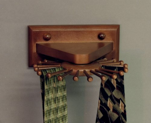 how to build a tie rack