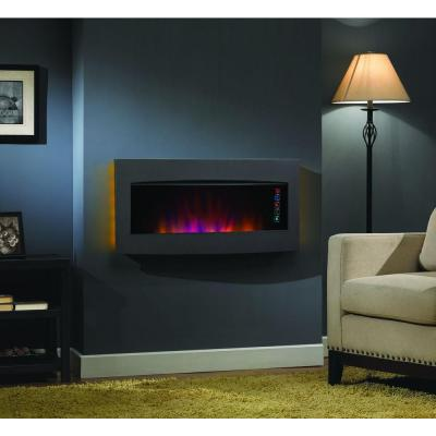 The Serendipity Wall Mount Or Tabletop Electric Fireplace