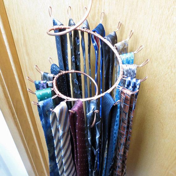 Best Tie Racks For Closets: Various Wall Mounted Tie Racks