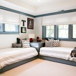 twin bed idea without headboard for boys