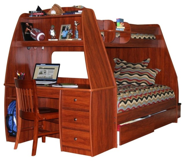 the advantages of twin loft bed with desk and storage homesfeed. Black Bedroom Furniture Sets. Home Design Ideas