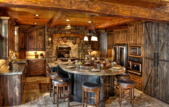 Luxurious Country House With Rustic Awe Homesfeed