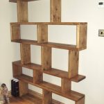 unique and space saving free standing bookshelves for attractive home ideas