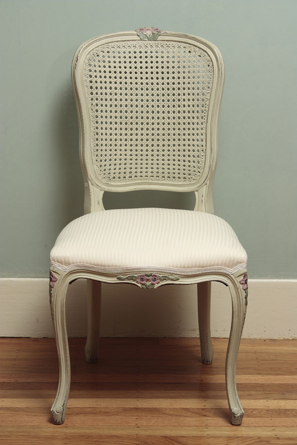 Vintage Cane Back Dining Chair For Inviting Room Ideas With Impressive Wooden Floor