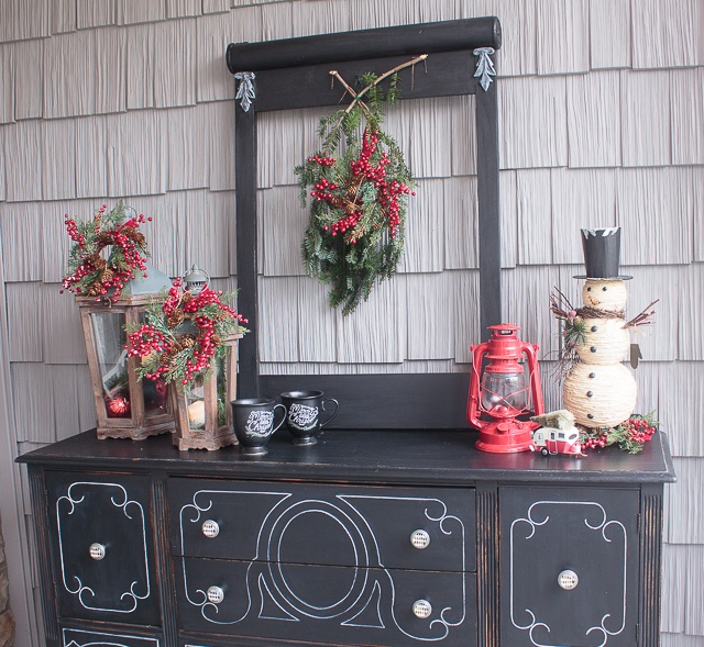 Christmas decorations vintage style all ideas about Classic outdoor christmas decorations