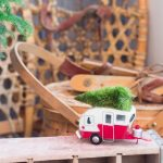 Vintage Outdoor Christmas Decoration In The Porch By Attagirlsays With Vintage Themed Christmas Ornament Atop A Wooden Soda Crate