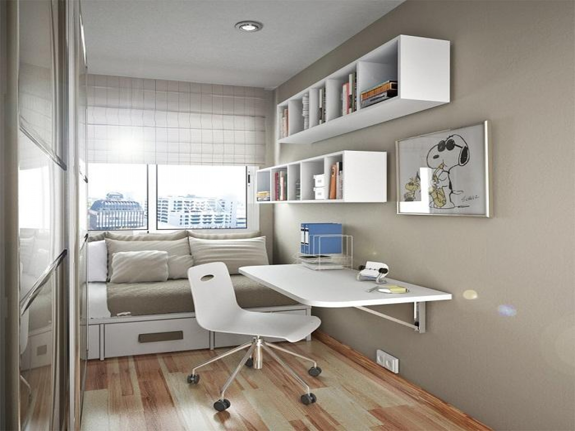 Floating Desk With Storage Ikea