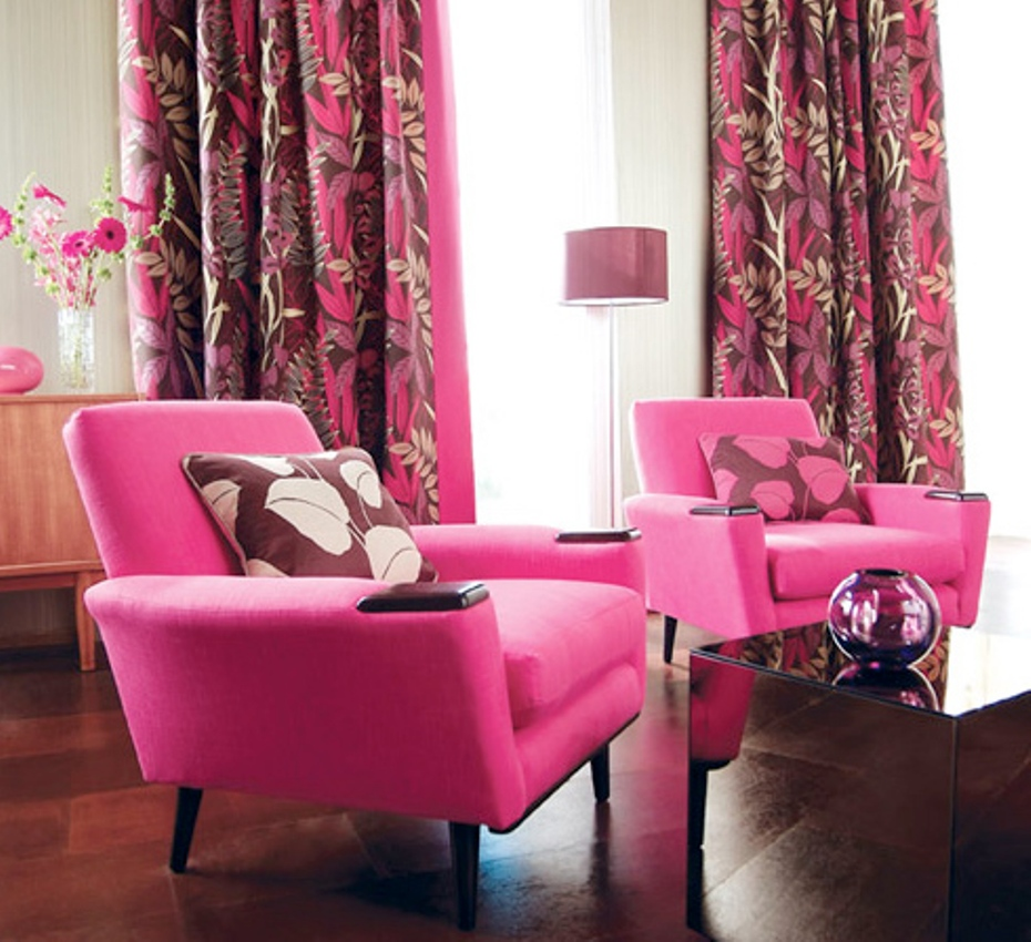 Home Chair: How To Cheer The Interior With Pink Accent Chair