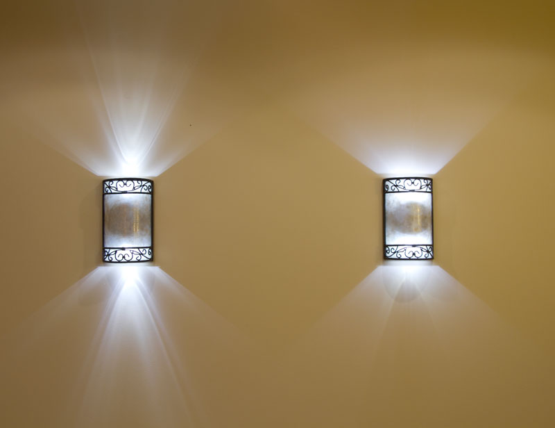 Battery Wall Sconces Home Lighting : Battery-Operated Wall Lights: Light Up Your Home in Instant and Practical Way HomesFeed