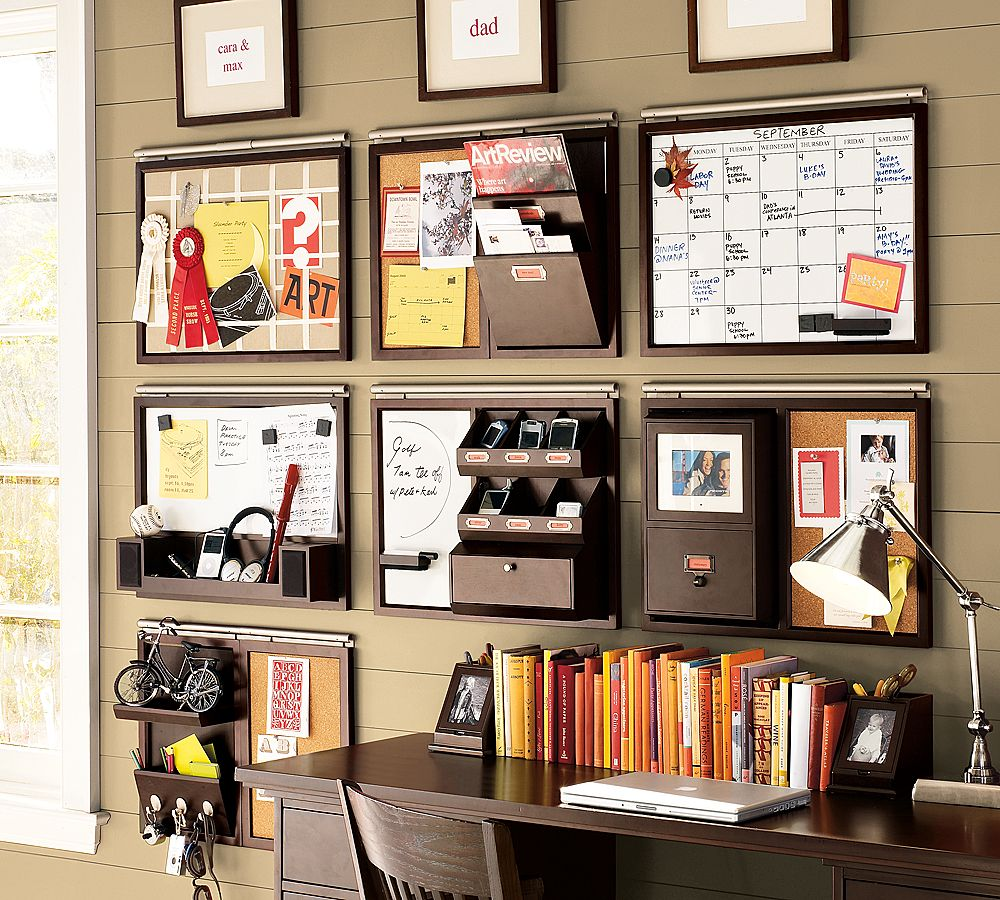 wall organizers home office. Amazing Wall Organizers For Home Office With Dark Wood Color On Desk And Chair F
