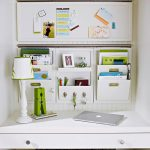 An office wall organizer idea with documents files and office stuffs storage ideas