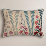 Antique Floral Design For Stratford Home Pillows