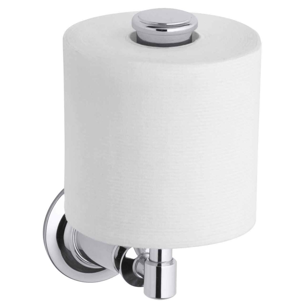 amazing vertical toilet paper holder homesfeed. Black Bedroom Furniture Sets. Home Design Ideas