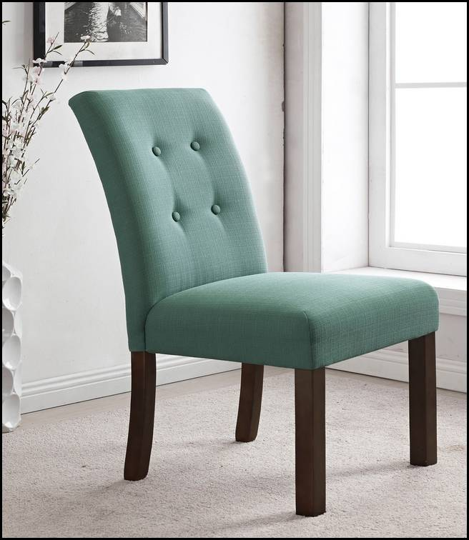 Armless Green Parsons Chairs Target With Wooden Legs