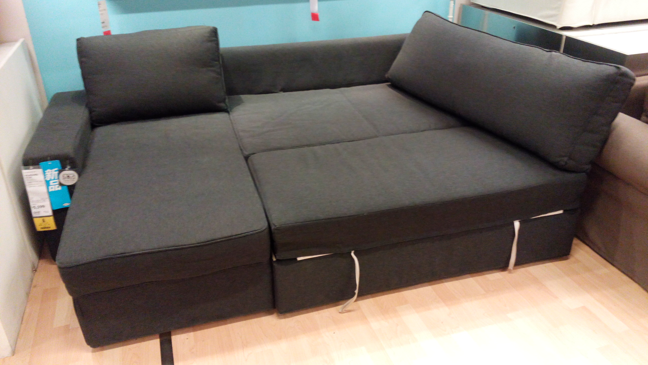 Merveilleux Awesome Dark Sofa Sleepers Ikea