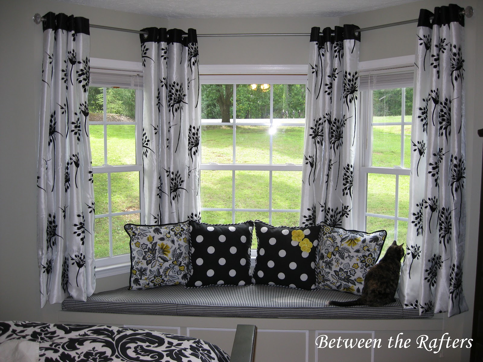 Bay Window Ideas : Best curtain rods for bay windows homesfeed