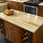 Awesome Quartzite Countertops Pros And Cons Block Design On Kitchen Island With Wine Racks