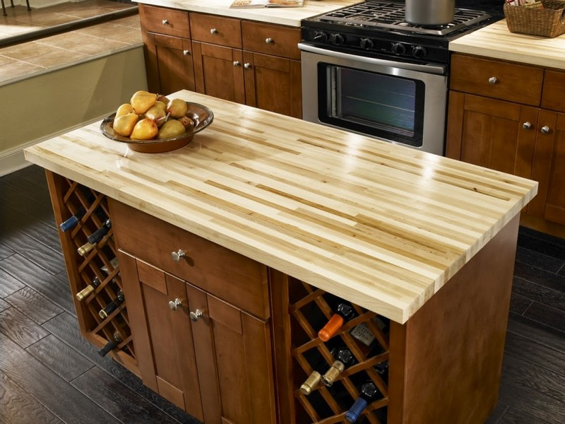 Kitchen Countertop Materials Pros And Cons : Awesome Quartzite Countertops Pros and Cons Block Design On Kitchen ...
