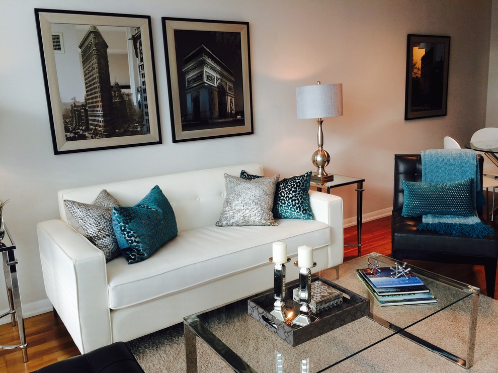 Beautiful Teal Living Room Decor - HomesFeed