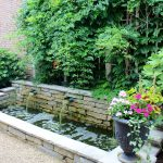 Backyard Pond Large Planters For Outdoors