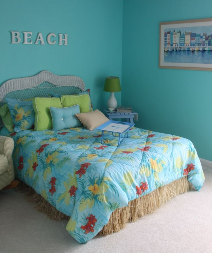 Beachy bedroom ideas homesfeed for Blue beach bedroom ideas