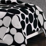 Beautiful Design Of Black And White Polka Dot Sheets