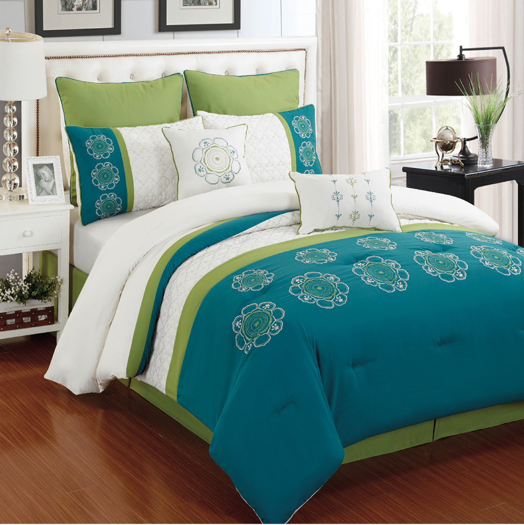 Turquoise Comforter Sets Homesfeed