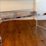 Best Lucite Coffee Table Ikea Design On Wooden Floor