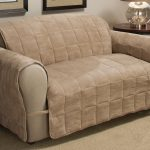 Best Slipcovers For Leather Couches With Brown And Cream Color