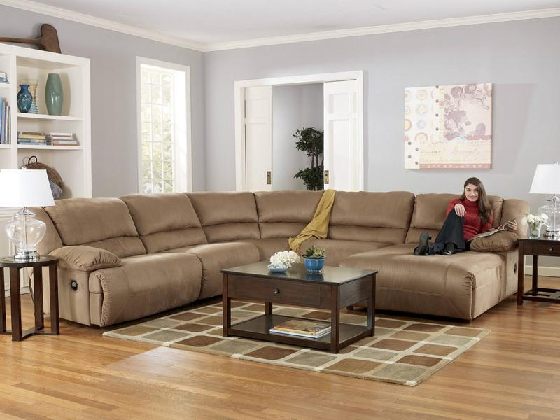 Cool oversized couches living room homesfeed for Large couch small living room