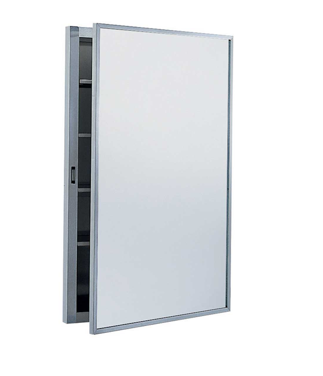 big recessed medicine cabinet no mirror with one door