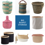 Big Storage Of Senegalese Storage Baskets With Different Color And Size