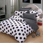 Black And White Polka Dot Sheets For Bedding