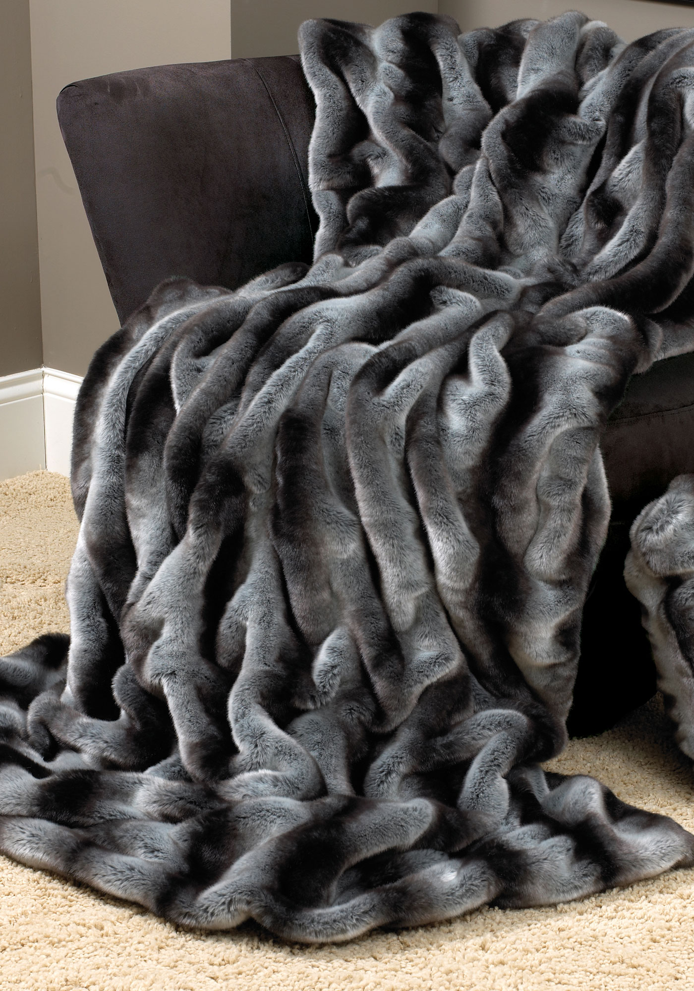 Luxury Faux Fur Blanket Queen Homesfeed