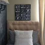 Black and white photo collage idea for home