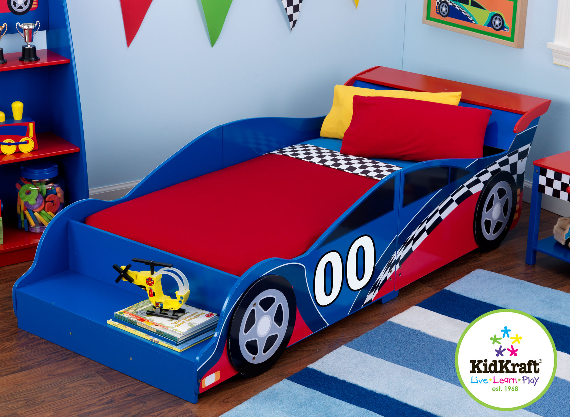 Wooden car beds for boys -  Car Beds For Toddlers Racecarbed_ 029