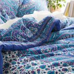 Blue Antique Urban Outfitter Bedding