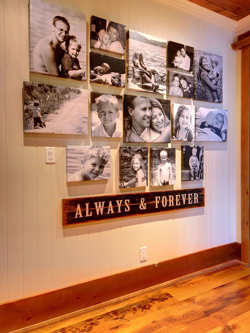 Canvas collage ideas as wall art homesfeed for Picture wall layout