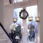 Christmas window decoration idea
