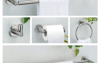 Collection Of Gatco Towel Bars And Paper Towel