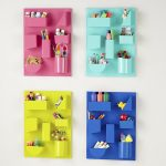 Colorful wall organizer idea for home office and office
