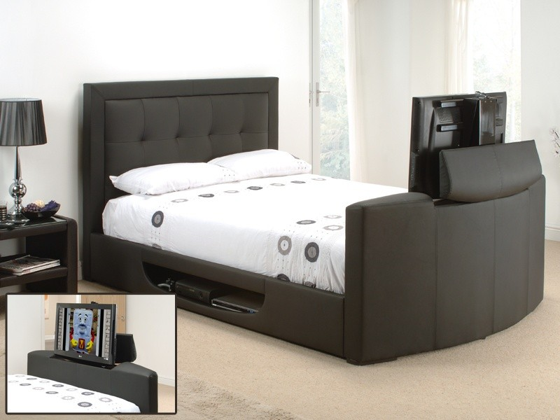 Cool Beds With Built In Tv Homesfeed