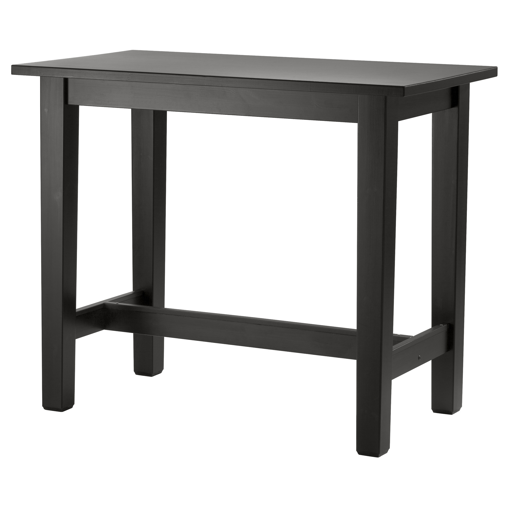Genial Cool Black Wooden High Top Tables Ikea