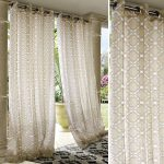 Cool Pattern Design Style For Indoor Outdoor Curtains