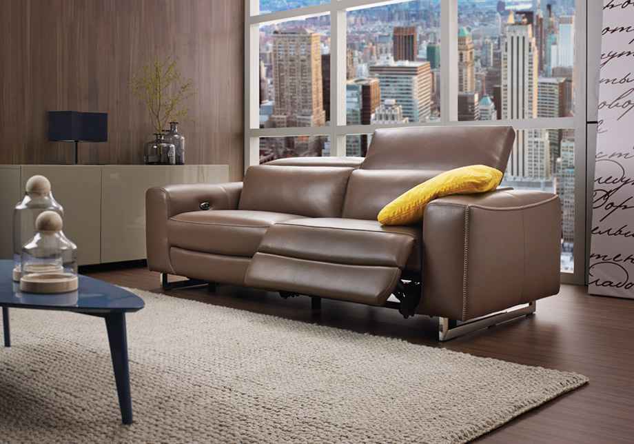 Cool Recliner Sofa With Large Rug And Unique Shape Of Coffee Table For Htl Furniture Reviews