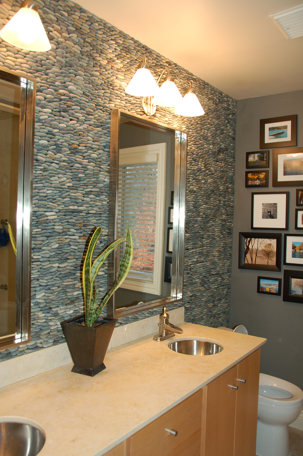 River Rock Tile Sheets | HomesFeed