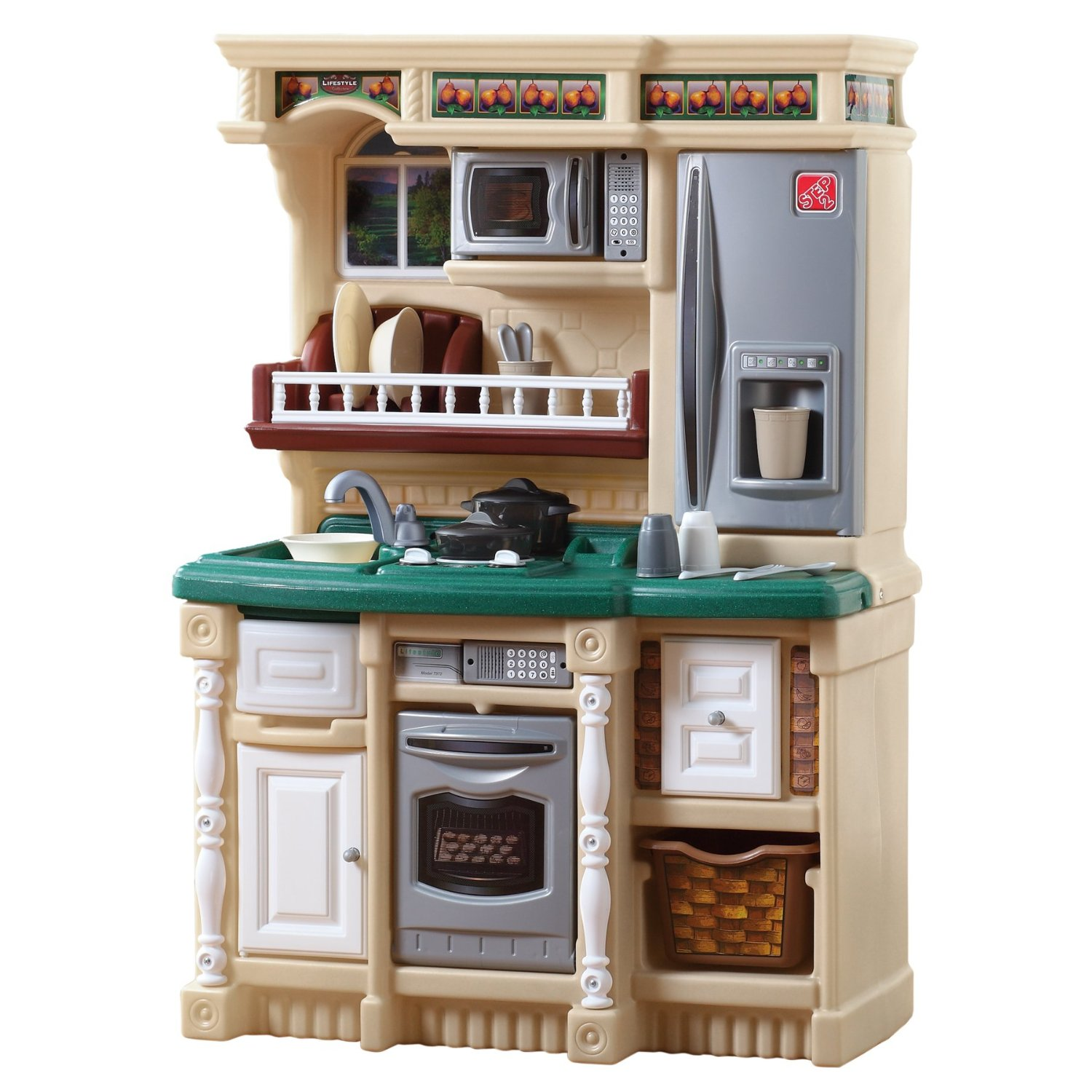 Good wood play kitchen sets homesfeed for Model kitchen set 2016
