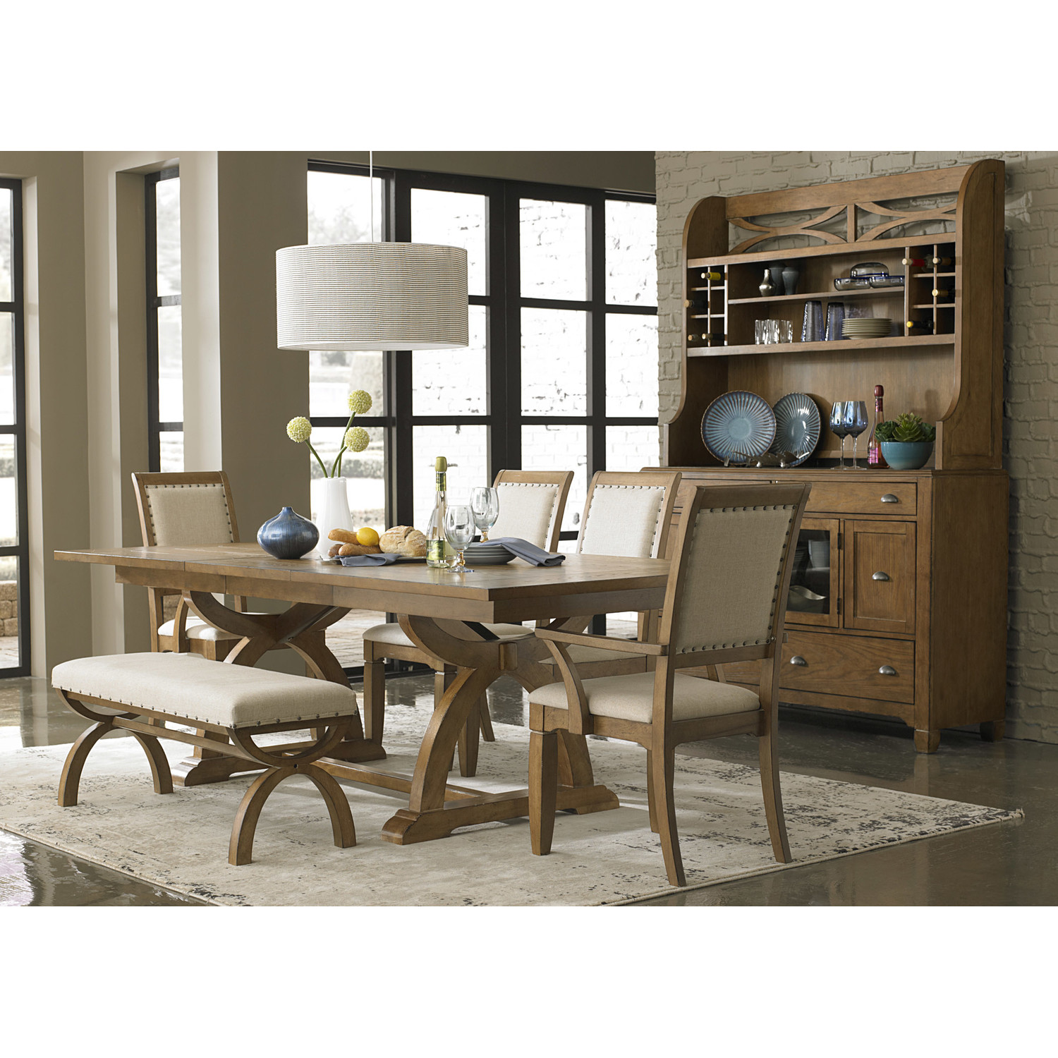 Dining Room Furniture Bench: Awesome Dinette Sets With Bench